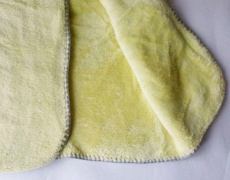 Одеяло для новорожденного из ткани велсофт